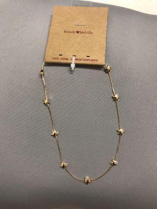 Brandy Melville Star Choker Necklace