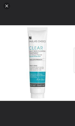 Paula's Choice Daily Skin Clearing Treatment 2.5% Benzoyl Peroxide