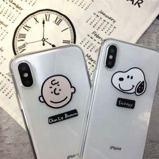 [po] #069 snoopy charlie brown peanuts phone case