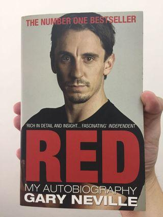 Red, My Autobiography; by Gary Neville