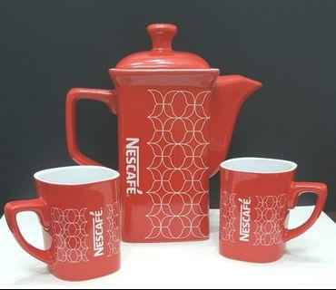 #EST50 Nescafe Coffee Pot & Cups