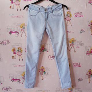 Pull&Bear Light Blue Skinny Jeans