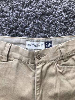 Slim fit Gap khakis
