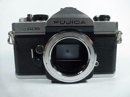 [一直攝] Fujica ST605底片單眼相機