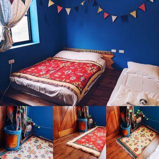 🇺🇸 歐美休閒圖騰棉線毯 軟式地毯 蓋毯 野餐巾 沙發巾 居家佈置推薦 歐式 西班牙 墨西哥 異國