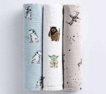 Star Wars swaddles