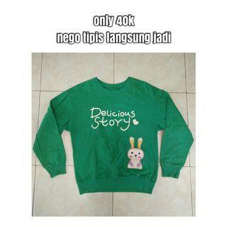 #CintaiBumi Sweater Oversized