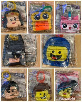 麥當勞 開心樂園餐 Lego 2 英雄傳 全套