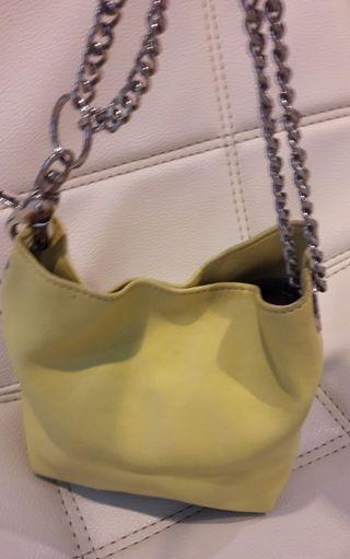 Mango touch limitted edition Kulit asli small bag