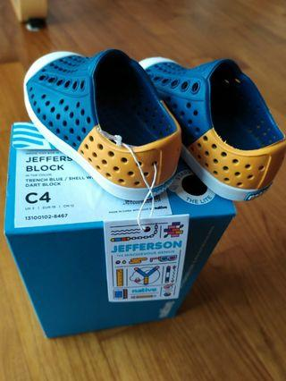NEW Jefferson Block Shoes UK3 EUR19 12CM