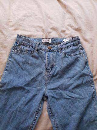 Mom style jeans