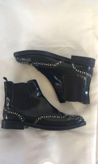 Authentic Church's Ketsby studded ankle boots