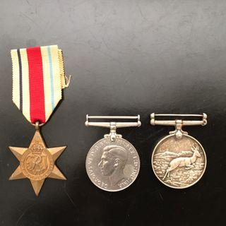 WW 2 Medals