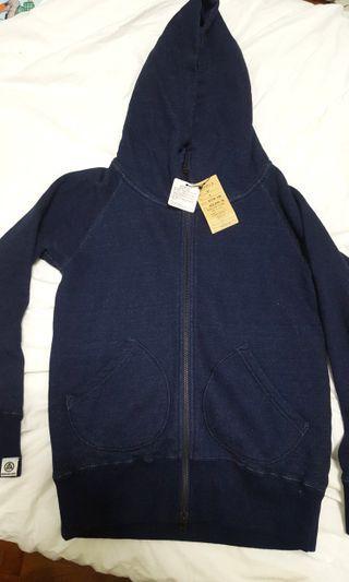 🚚 [SALE] Momotaro Jeans Pure Indigo Hooded Jacket