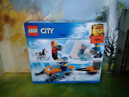 Lego City 60191 Back in Box