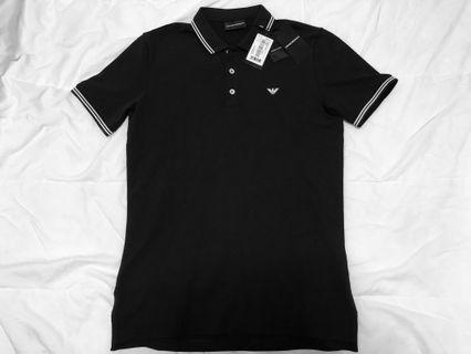 🚚 [SALE] BNWT Emporio Armani Navy Blue Polo Shirt
