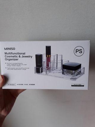Miniso Acrylic Makeup Organizer
