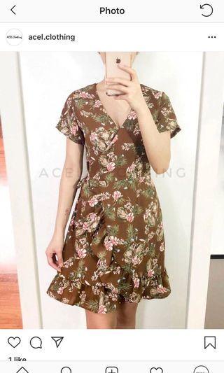 Wrap Dress • Best fit Small & Medium • Brandnew