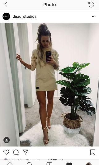 Dead studios oversized jumper dress