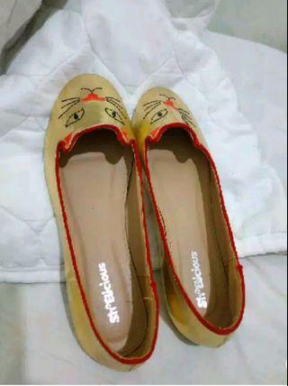 Cat flatshoes