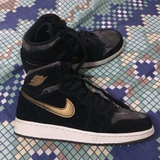 1ece49b88dae5a  Repriced  Nike Air Jordan 1 Retro High Premium GG Heiress Camo - Womens