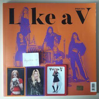 Pristin V Single Album - Like a V