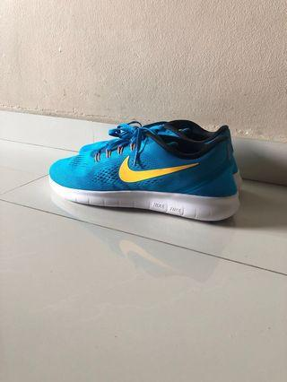 Nike Free RN Blue Running Shoes