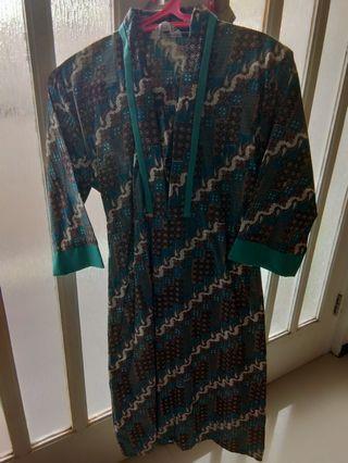 Jual murah Dress Batik pekalongan (2pcs) bagus real pict