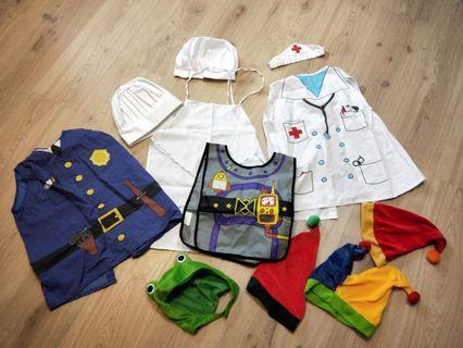 小廚師 小護士 警察 造型衣—批