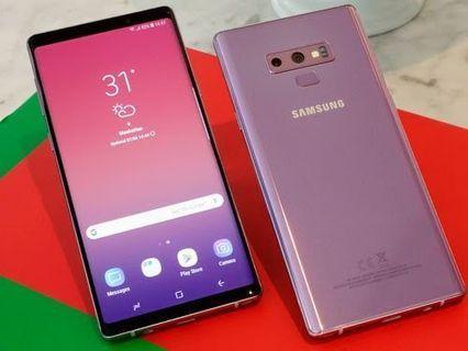 港版双卡Samsung Note 9粉紅色