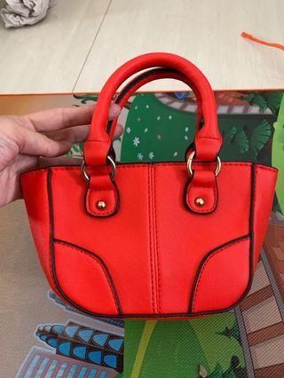 New look orange bag
