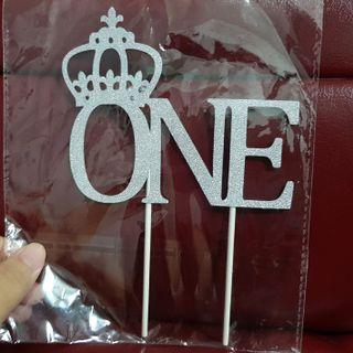 BN 1st/ONE Cake Toppers