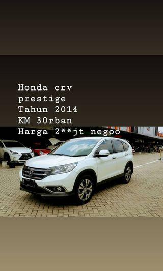 Honda CRV prestige (nego)