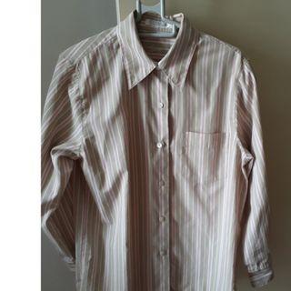 Worn Once, Ladies Foxcroft Long Sleeve Shirt, Medium