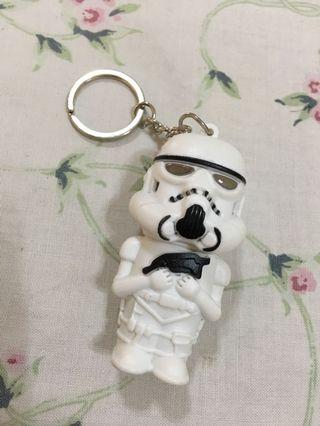 Storm Trooper Keychain