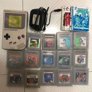 Game boy 壞機,14隻game