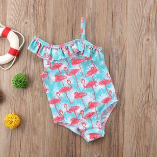 ⭐️Instock⭐️ Flamingo Toga Swimsuit
