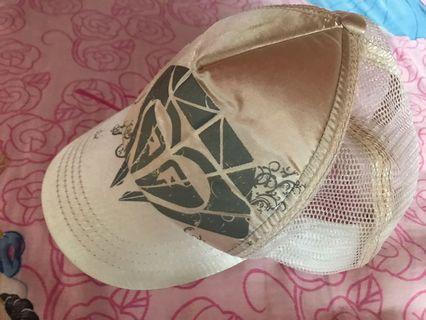 Roxy 白色 Cap 帽 (旅行防曬必備)