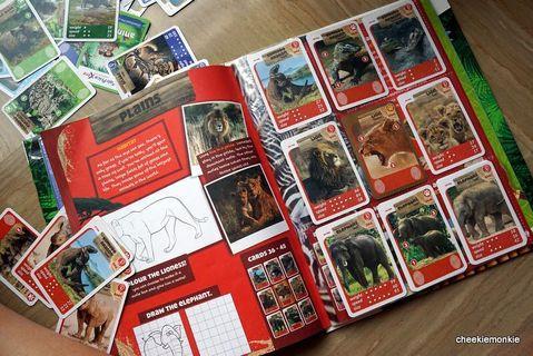 🚚 fairprice xtra animal cards