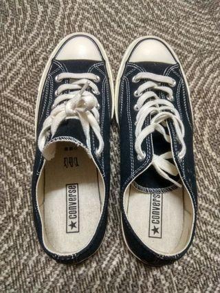 1742e1a7109f Converse chuck taylor 70s black