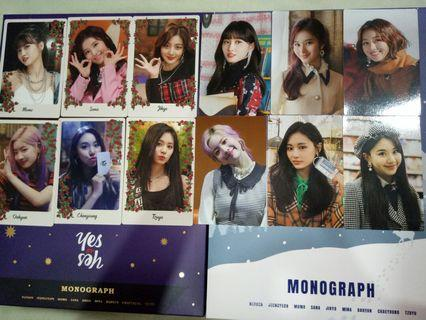 TWICE Yes or Yes & The Year of Yes Monograph Photocard