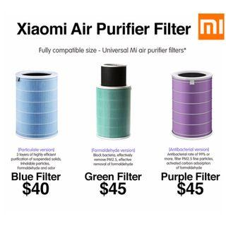 XiaoMi Air Filter for GEN2 /GEN2S XiaoMi Air Purifiers