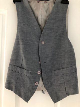 Blue-grey vest