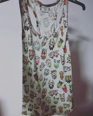 Tokidoki milk top