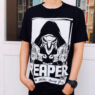Overwatch t-shirt (reaper)