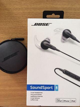 Bose Soundsport earphone (wired)