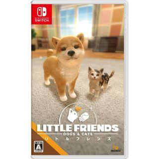 [NEW NOT USED] SWITCH LITTLE FRIENDS: DOGS & CATS Nintendo Imagineer Simulation Games