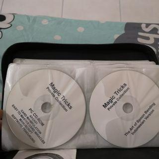 Jual koleksi dvd sulap