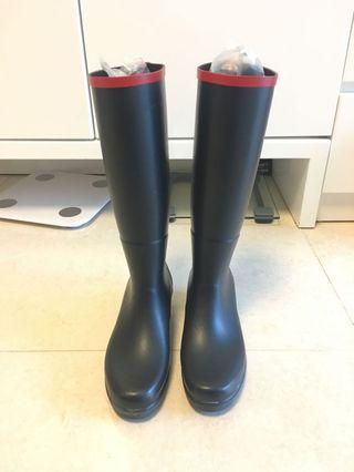 99% new Aigle Julietta rubber boots 高筒水鞋