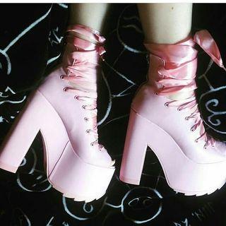 Dollskill x yru collab ballet bae heels